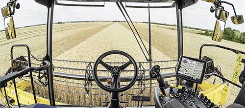 mietitrebbia con Harvest Suite