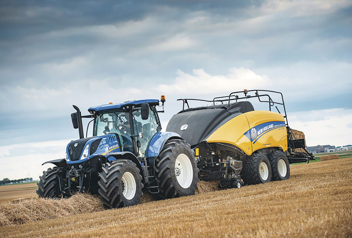 Presse agricole BigBaler Plus New Holland